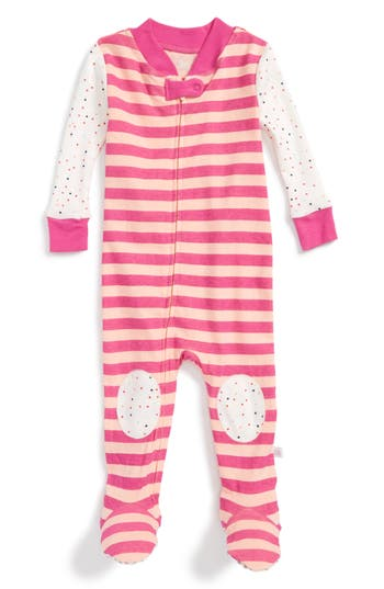 Infant Girl's Rosie Pope Fitted One-Piece Pajamas