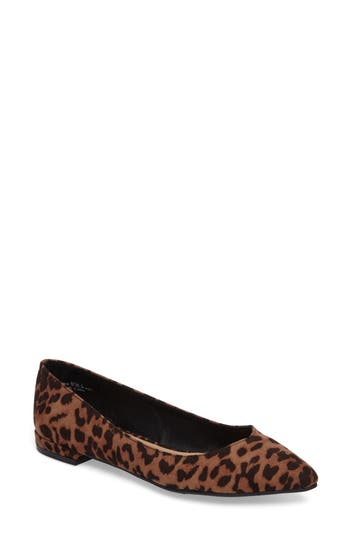 Chinese Laundry Gavin Pointy Toe Flat, Brown