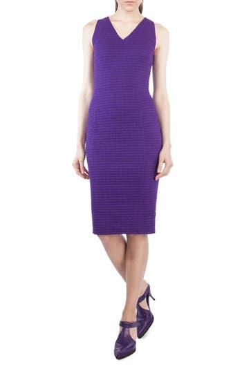 Akris Punto Waffle Jersey Dress, Purple