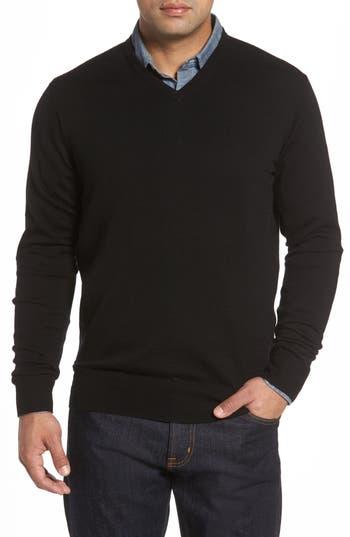 Peter Millar Merino Sweater, Black