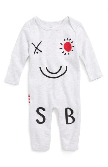 Infant Sookibaby Logo Graphic Romper