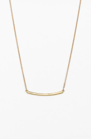 Women's Bony Levy Bar Pendant Necklace (Nordstrom Exclusive)