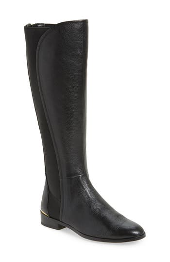 Louise Et Cie Vallery Elastic Back Knee High Boot, Black