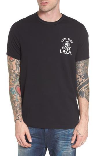 True Religion Brand Jeans No Love Lost T-Shirt, Black