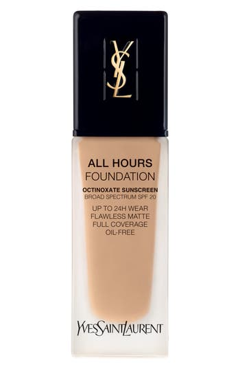 Yves Saint Laurent All Hours Full Coverage Matte Foundation Spf 20 - Bd35