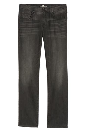 7 For All Mankind The Straight Slim Straight Leg Jeans, Grey
