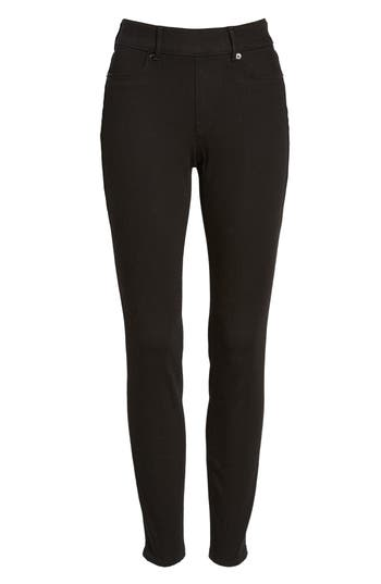 True Religion Brand Jeans Jennie Curvy Runway Leggings, Black