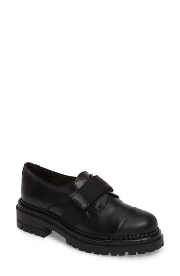 Shellys London Keeper Lug Sole Loafer, Black