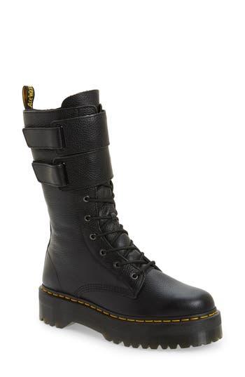 Dr. Martens Jagger Combat Boot, US/ 4UK - Black