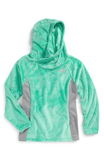 Girls The North Face Oso Fleece Pullover Size M (1012)  Green