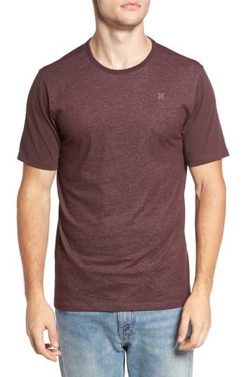 Hurley Lagos Snapper Dri-Fit T-Shirt, Burgundy