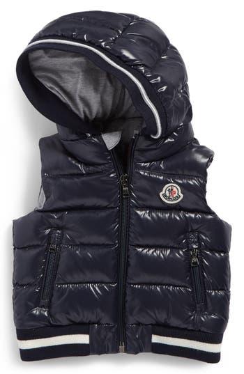 Toddler Boys Moncler Larry Hooded Down Puffer Vest