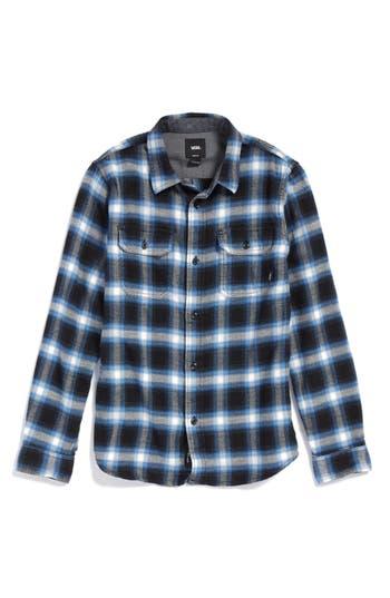 Boys Vans Beechwood Plaid Flannel Shirt