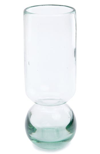 Homart Tall Recycled Glass Vase, Size One Size - White
