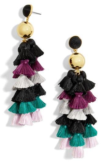 Women's Baublebar Corsetta Tiered Tassel Earrings