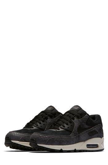 Nike Air Max 90 Premium Sneaker- Black