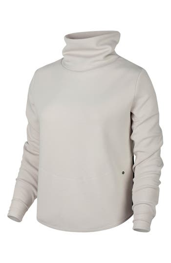 Nike Thermal Pullover Training Top, White