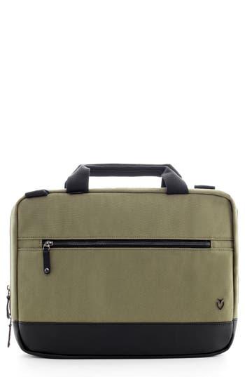 Vessel Refined Briefcase - Green