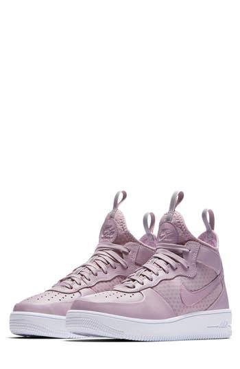 Nike Air Force 1 Ultraforce Mid Sneaker- Purple
