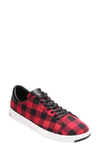 Cole Haan Grandpro Tennis Shoe, Red