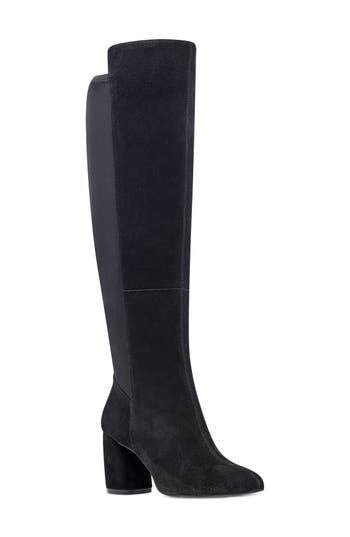 Nine West Kerianna Knee High Boot, Black