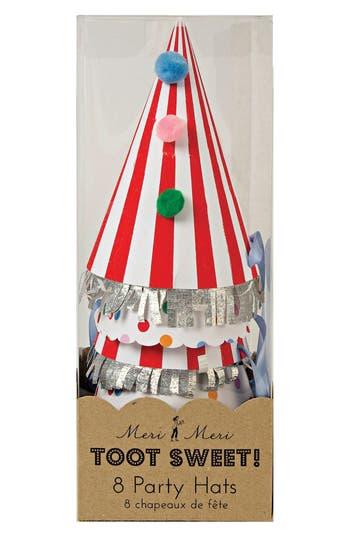 Meri Meri Toot Sweet 8Pack Party Hats