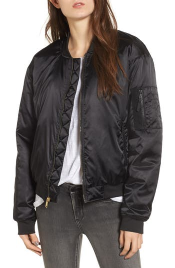 The North Face Barstol Bomber Jacket, Black