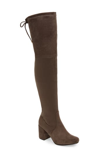 Very Volatile Heartbeat Over The Knee Boot