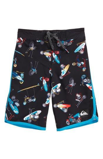 Boys Quiksilver Moto Mayhem Board Shorts