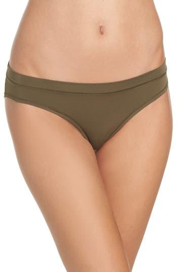 Zella Body Mesh Active Bikini, Green