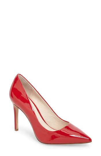 Louise Et Cie Joye Pointy Toe Pump, Red