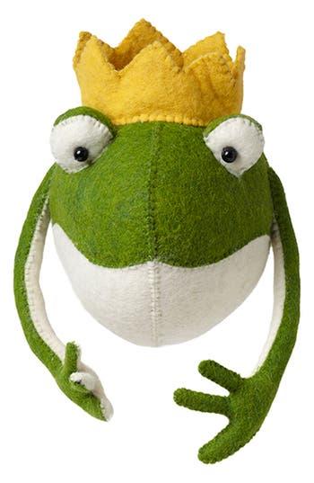 Fiona Walker Frog Prince Head Wall Art, Size One Size - Green
