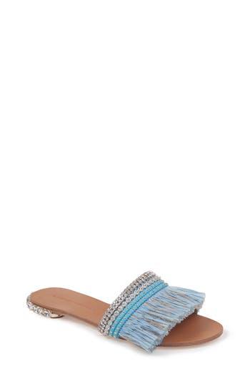 Badgley Mischka Sharlene Sandal, Blue