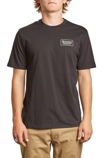 Brixton Palm Premium T-Shirt, Black