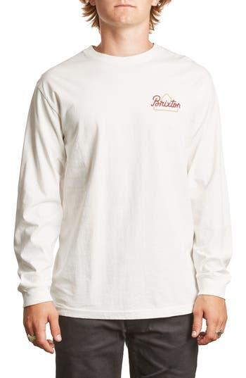 Brixton Newbury T-Shirt, White