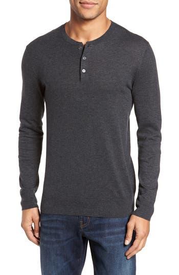 Bonobos Henley Sweater, Grey