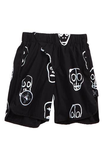 Boys Nununu Skull Mask Board Shorts