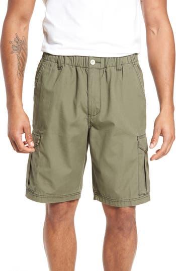 Mens Big  Tall Tommy Bahama Island Survivalist Cargo Shorts Size 5XB  Green