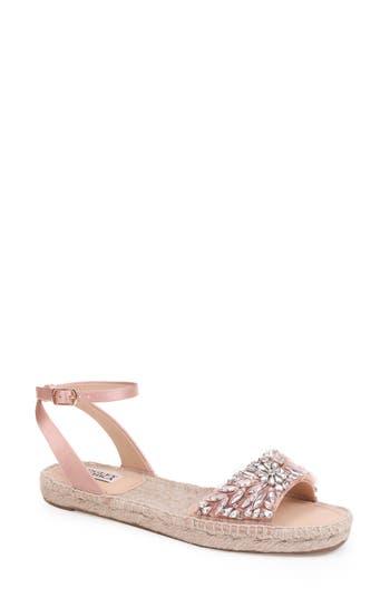 Badgley Mischka Satine Espadrille Sandal, Pink