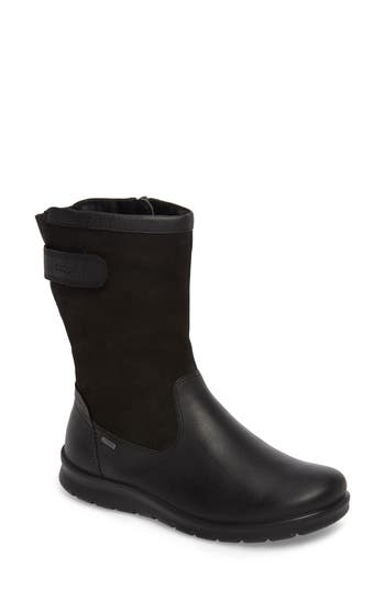 Ecco Babett Waterproof Gore-Tex Boot, Black