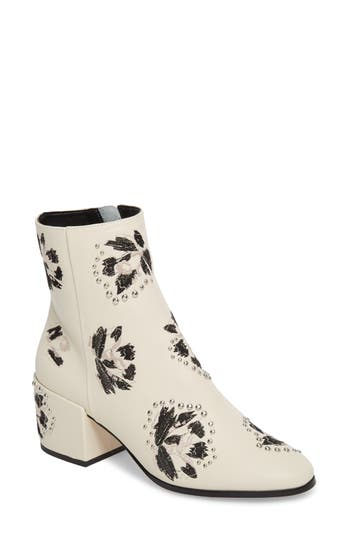 Dolce Vita Mollie Embellished Bootie, White