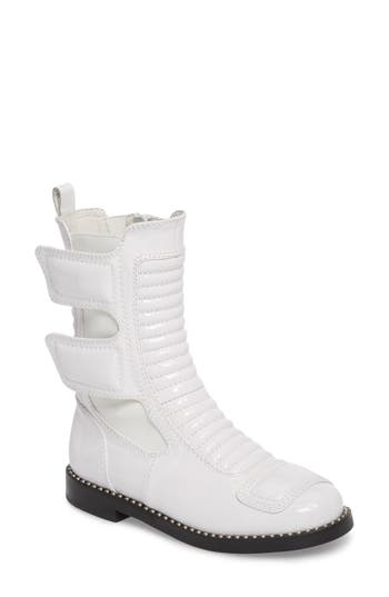 Jeffrey Campbell Police Boot, White