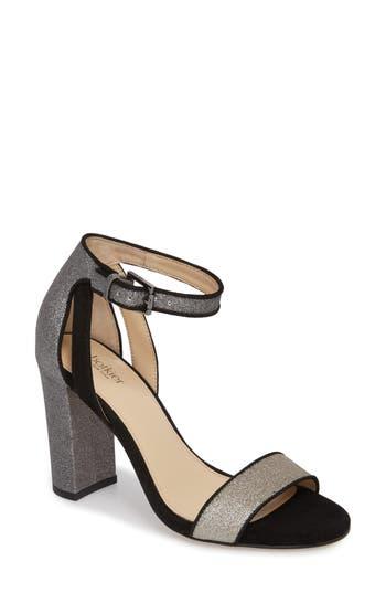 Botkier Gianna Ankle Strap Sandal- Metallic