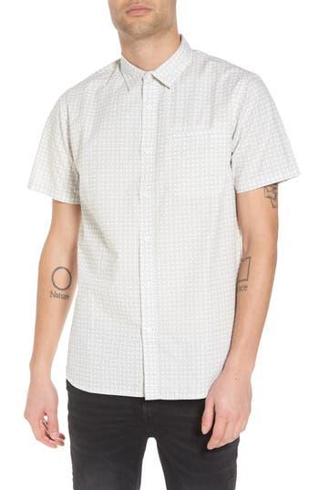 Tavik Porter Woven Shirt, White