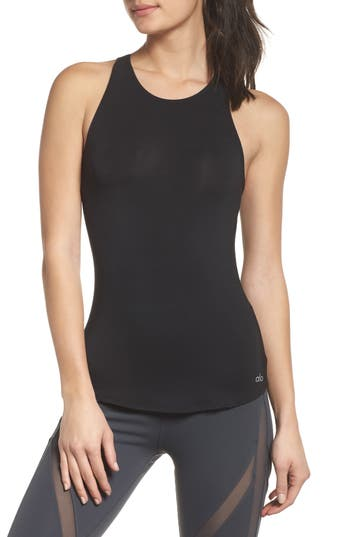 Alo Join Strappy Tank, Black