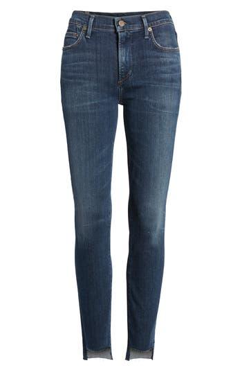 Rocket Step Hem Skinny Jeans