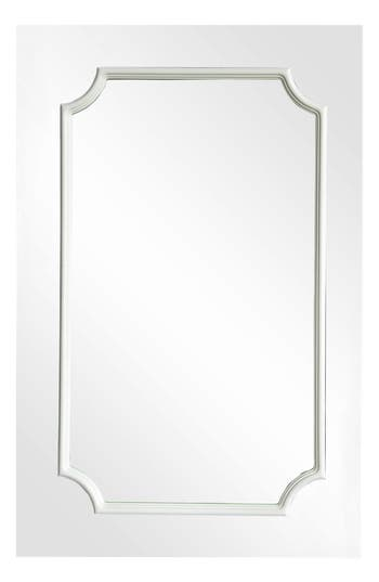 Renwil Amerie Mirror, Size One Size - White