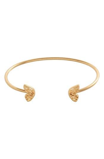 Women's Olivia Burton Butterfly Wing Open Bangle Bracelet