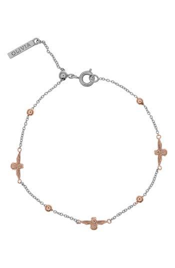 Women's Olivia Burton Queen Bee Ball Chain Bracelet