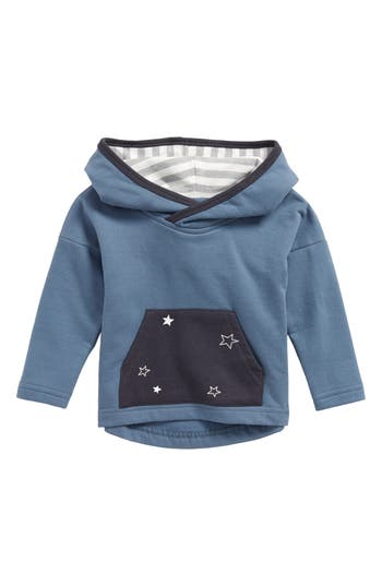 Infant Boys City Mouse Star Pocket Hoodie